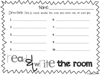 Read & Write the Room