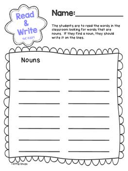Read & Write the Room Center