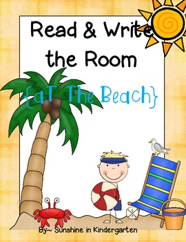 Read &Write the Room {At the Beach}
