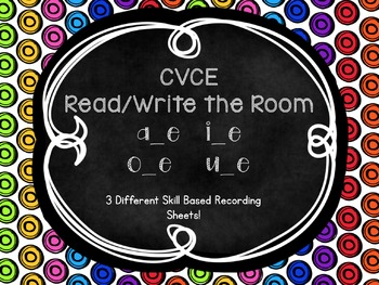 Read/Write the Room~ CVCE Edition
