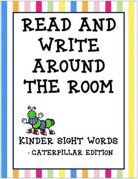 Read & Write the Room - Caterpillars