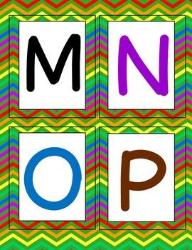 Read & Write the Room {Color the Alphabet}