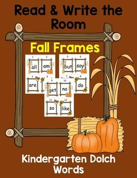 Read & Write the Room Fall Frames