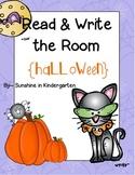 Read & Write the Room {Halloween}