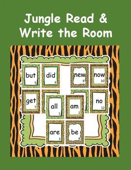 Read & Write the Room Jungle