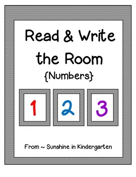 Read & Write the Room {Numbers}
