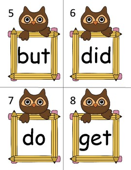 Read & Write the Room Owl Frames