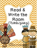 Read & Write the Room {Thanksgiving}