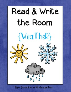 Read & Write the Room {Weather}