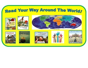 Read Your Way Around The World Poster