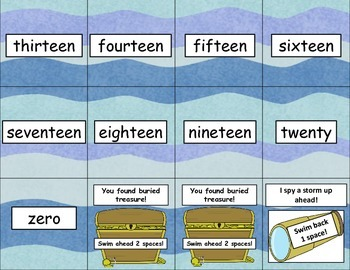 Read Your Way to the Mermaid Castle-  A Sight Word Game