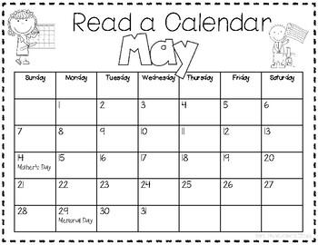 Read a Calendar