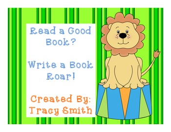 Read a Good Book?  Write a Book Roar!