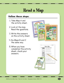 Read a Map: Parts of a Map/Cardinal Directions