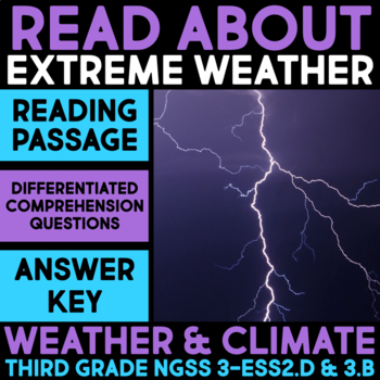 Read about Extreme Weather - Weather & Climate Science Station
