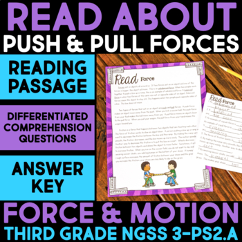 Read about Force - Force & Motion Science Station