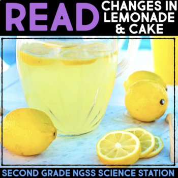Read about Reversible and Irreversible Changes - Second Grade Science Stations