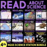 Read about Science BUNDLE 4th Grade NGSS  | Distance Learning