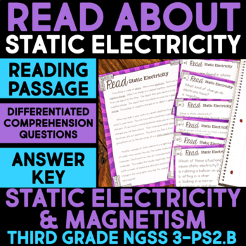 Read about Static Electricity - Science Station