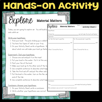 Explore Matter and the Properties of Air - Second Grade Science Stations