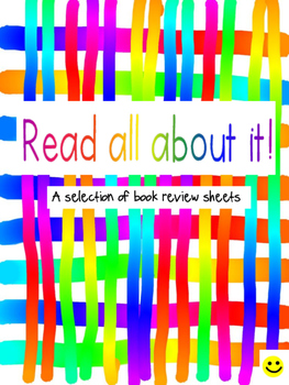 Read all about it! Book Review Sheets