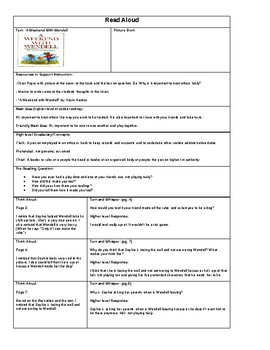 """Read aloud lesson plan """"A weekend with Wendell"""" by: Kevin Henkes"""
