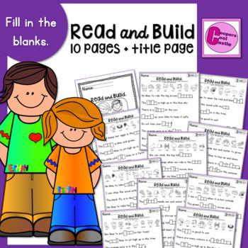 Read and Build (Fill in the Blanks)