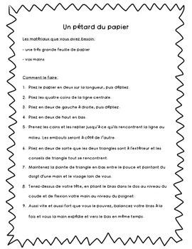 Read and Build - Un pétard du papier