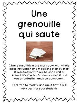 Read and Build - Une grenouille qui saute