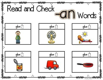 Read and Check: Chunk Words