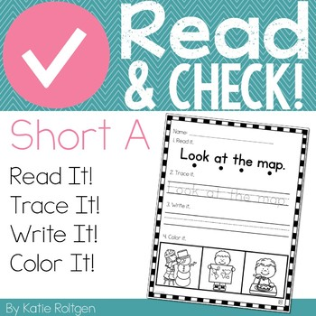 Read and Check! (Short A)