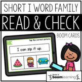 Read and Check {Short I} BOOM Cards Distance Learning