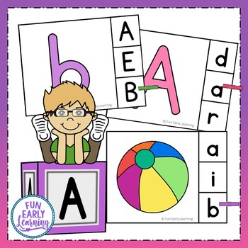 Read and Clip Letters and Sounds