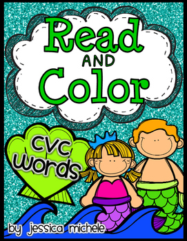 Read and Color {CVC Words}