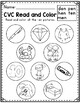Read and Color: CVC Words SAMPLER