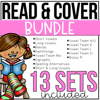 Read and Cover Color BUNDLE