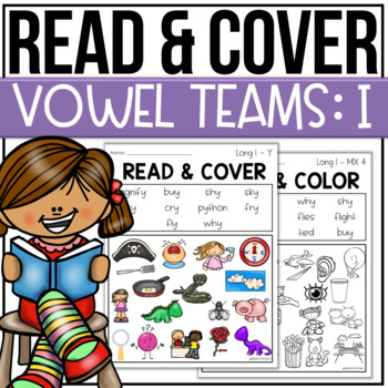 Read and Color Cover Vowel Teams I