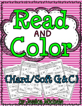 Read and Color {Hard/Soft C and G}