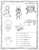 Read and Color Phonics Pictures