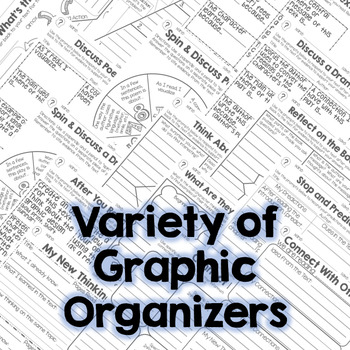 Read and Comprehend Fiction Graphic Organizers RL.3.10 RL.4.10 RL.5.10