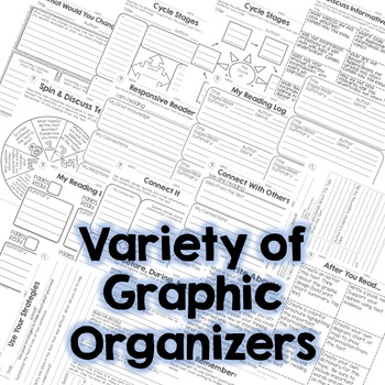 Read and Comprehend Info. Text Graphic Organizers RI.3.10 RI.4.10 RI.5.10