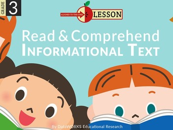 Read and Comprehend Informational Text