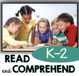 Read and Comprehend - Reading Passages with Comprehension Questions - Vocabulary