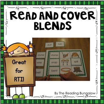 Read and Cover {Blends Edition}