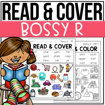 Read and Cover Color R Controlled Bossy R