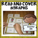 Read and Cover {Digraphs Edition - ch, tch, sh, th, wh, dg