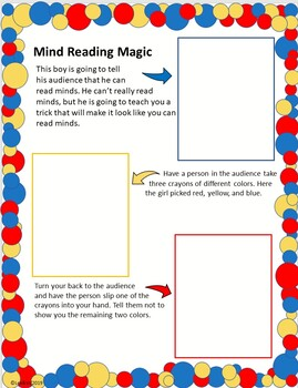 Read and Do: Magic--Mind Reading