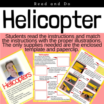 Read and Do: Make a Paper Helicopter