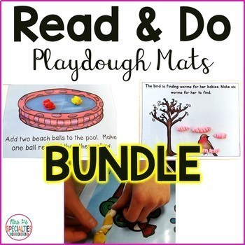 Read and Do Playdough Mats BUNDLE