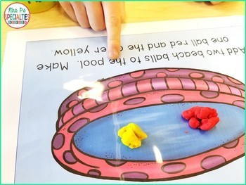 Read and Do Playdough Mats BUNDLE (Reading Comprehension Playdough Mats)